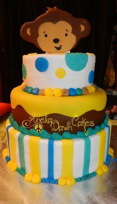 Babyshower cake by AneliaDawncakes