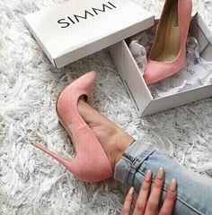 high heels – High Heels Daily Heels, stilettos and women's Shoes Zapatos Shoes, Shoes Heels, Pink Heels, Stiletto Heels, Cute Shoes, Me Too Shoes, Heeled Boots, Shoe Boots, Simmi Shoes
