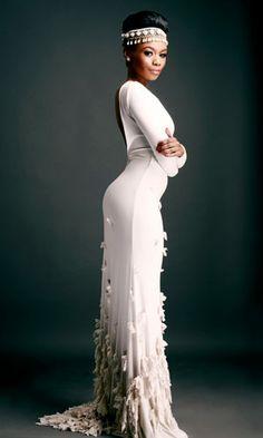 African Fashion - #Bonang_Matheba