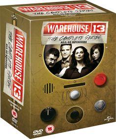 Warehouse 13 - The Complete Series [DVD] [2009]: Amazon.co.uk: Eddie McClintock, Joanne Kelly, Saul Rubinek, Genelle Williams, Simon Reynolds, Allison Scagliotti, C. C. H. Pounder, Roger Rees: DVD & Blu-ray