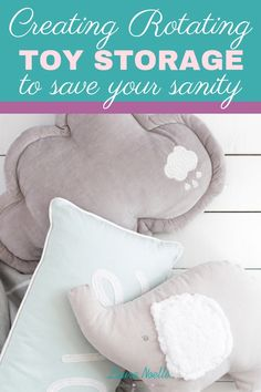 Create a sanity saving rotating toy storage system and re-gain your living spaces, even with littles underfoot. Toddler Preschool, Toddler Toys, Baby Toys, Kids Room Organization, Declutter, Organize, Nursery Inspiration, Toy Storage, Baby Decor