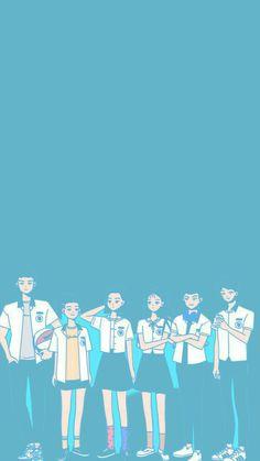 A-teen webdrama wallpaper Teen Wallpaper, Cute Pastel Wallpaper, Teen Web, Teen Images, Wattpad Book Covers, Web Drama, Kawaii, Cover Pics, Cute Anime Couples