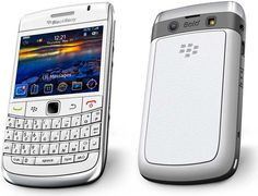 A white blackberry...my next phone