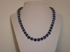 Blue pearl beauty genuine freshwater by CreationsbyMaryEllen, $23.50