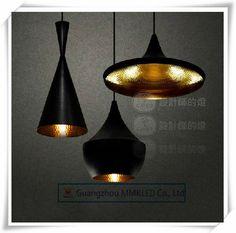 дизайн том диксон подвеска лампы свет бить том диксон меди тени люстра фары, abc( высокий, толстый и широкий), 3 шт/пакет US $46.00