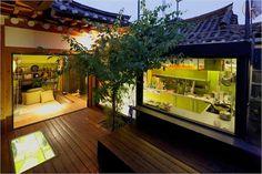 fusion design, modern and traditional Korean home design