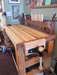 First finished project: my little living room bench #woodworkingtips #woodworkingbench #woodworkideas