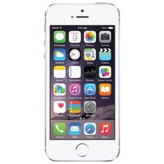 (Refurbished) Apple Iphone 5s 32gb (Sliver) [Grade A]