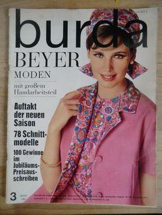 Burda Beyer Moden / Heft 3/ März 1964 mit 2Schnittbögen + A. Heft | eBay