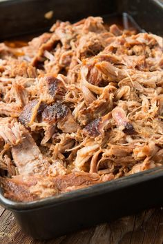 Want to make the best pulled pork from your own kitchen? This recipe for the world's best Carolina pulled pork all starts with a brine. Pulled Pork Marinade, Pulled Pork Recipes, Bbq Pork, Pork Ribs, Meat Recipes, Cooking Recipes, Shredded Pork Recipes, Pulled Pork Oven, Pork