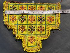 Your place to buy and sell all things handmade Beaded Embroidery, Hand Embroidery, Denim Jacket Patches, Tribal Fabric, Tribal Belly Dance, Indian Textiles, Embroidered Jacket, Boho, Craft Supplies