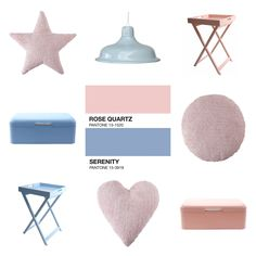 Rose Quartz i Serenity - kolory Pantone 2016