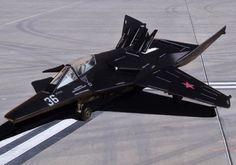 MiG-37B Ferret Stealth Fighter Concept