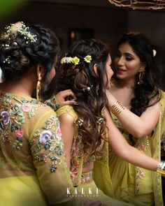 Not only does the bridesmaid title come with a few important 'Made of Honor' duties like planning a dope bachelorette party and bridal shower but you're also officially joining a bride tribe. Indian Bridal Outfits, Indian Dresses, Bridal Dresses, Bridesmaid Dresses, Bridesmaids, Wedding Looks, Wedding Wear, Best Friends For Life, Modest Wear