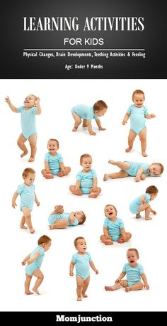Now that your baby is 9 months old, he may be trying to hold anything within his reach. Why not introduce these 4 learning activities for 9 month old baby. Kids Learning Activities, Baby Learning, Infant Activities, Physical Activities, Pediatric Physical Therapy, 9 Month Old Baby, Infant Classroom, 9 Month Olds, Baby Play