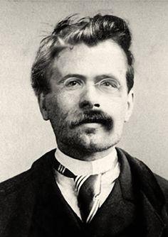 Dit is een foto van de filosoof Nietzsche. Volgens Rudolf Herter heeft Hitler de denkbeelden van deze filosoof misbruikt. Hierbij gaat het vooral om het concept van de 'übermensch': de heerschappij van de sterken over de zwakken.