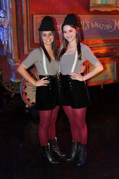 Tweedle Dee and Tweedle Dum from Ellen.com