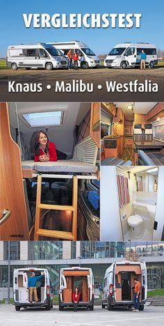 Pössl machte den günstigen #Querbett-Ausbau des Sechs-Meter-Ducato einst zum Bestseller. Knaus, Malibu und Westfalia zeigen aktuell, was man aus diesem Modellkonzept noch so alles herausholen kann. #Campingbus