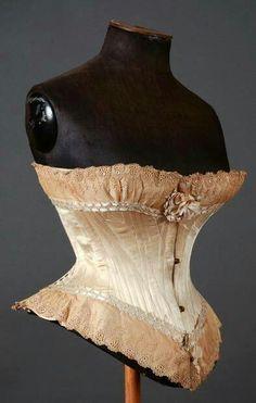 1875 corset, Paris