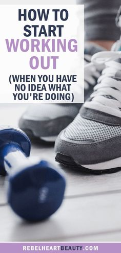 How to Start Working Out (When You Have No Idea What You're Doing) - Rebel Heart. - How to Start Working Out (When You Have No Idea What You're Doing) – Rebel Heart Beauty – How - Fitness Logo, Fitness Humor, You Fitness, Physical Fitness, Fitness Quotes, Fitness Tracker, Fitness Design, Fitness Diet, Fitness Motivation