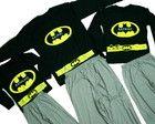 Kit 3 pijamas - Batpai, mãe e filho (a)