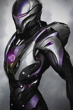 """Marvel Studios concept artist Andy Park has shared an amazing, wallpaper worthy piece of art from Avengers: Endgame showing Captain Marvel leading the rest of """"A-Force"""" into battle against the Chitauri. New Iron Man, Iron Man Art, Black Panther Art, Black Panther Marvel, Marvel Comic Universe, Marvel Art, Iron Man Pictures, Iron Man Wallpaper, Armor Concept"""