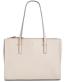 A sophisticated tote for 9-to-5 and beyond, kate spade new york's clean-lined design fits daily essentials inside a neat & tidy multi-compartment interior you can take just about anywhere. | Crosshatc