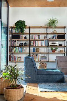 SHARON GATT | בית ברמת הגולן תכנון אדריכלי שרון גת Bookcase, Shelves, Interior, Home Decor, Shelving, Decoration Home, Indoor, Room Decor, Book Shelves