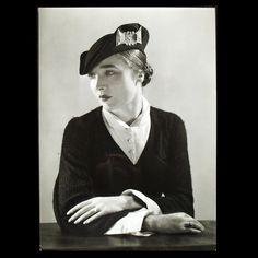 Robe Bouclette de Lucien Lelong, photographie d'époque du studio Deutsch (circa 1935)