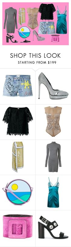 """something special"" by monica022 ❤ liked on Polyvore featuring Mira Mikati, Yves Saint Laurent, Temperley London, Amen, Monse, Gareth Pugh, Yazbukey, Fleur of England, Diesel and Jil Sander"