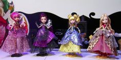 Every After High Thronecoming. Cupid, Raven Queen, Blondie Lockes and Apple White Chatty Cathy, Ever After Dolls, After High School, Raven Queen, Ever After High, New Dolls, Monster High Dolls, Girl Dolls, Fashion Dolls