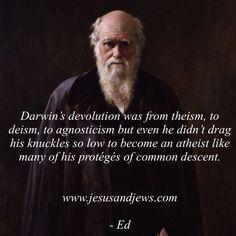 "Quotes For Jesus on Twitter: ""Darwin #atheist #agnostic #evolution #darwinism #evolutionism #atheism #christian #apologetic #evangelism #jesus #god #bible #inspirational https://t.co/PfTOWKMqg6"""