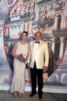 La princesse Caroline de Hanovre et le prince Albert II de Monaco à Monaco le 19 mars 2016