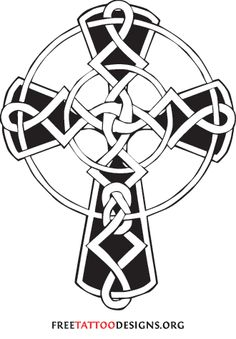 Celtic cross.  Would make a good wood carving. Mother's day gift?