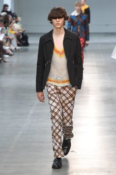 MAN Spring 2019 Menswear Fashion Show Collection: See the complete MAN Spring 2019 Menswear collection. Look 2