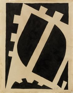 Otto Freundlich - Sans titre, 1930, India ink on paper on MutualArt.com