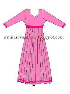 HOW TO STITCH ANARKALI SUITS AND MANY OTHER PATTERNS