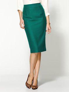 Pim + Larkin Tulip Pencil Skirt