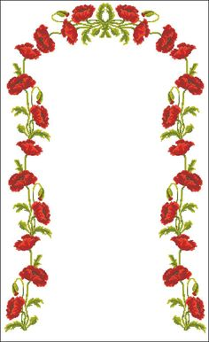 Name: Views: 332 Size: KB (Kiloby … - Stickerei Ideen Patio Bar Set, Prayer Rug, Bargello, Cross Stitch Flowers, Poppies, Diy And Crafts, Entertaining, Model, Towels