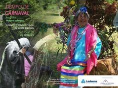 """Carnaval en el Centro de Visitantes Ledesma. Muestra colectiva de fotografías del Carnaval Jujeño. """"Mascaritas"""" y """"Bailarinas"""" de Cecilia Espinosa."""