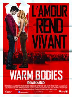 Warm Bodies est un film de Jonathan Levine avec Nicholas Hoult, Teresa Palmer. Synopsis : Un mystérieux virus a détruit toute civilisation. Les rescapés vivent dans des bunkers fortifiés, redoutant leurs anciens semblables devenus des monst