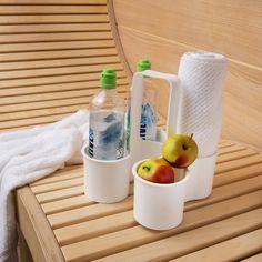 Flaschenträger Caddy weiß Jetzt bestellen unter: http://www.woonio.de/produkt/flaschentraeger-caddy-weiss/