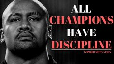 MOTIVATION TO WORK HARD - All Champions Have Discipline Motivational Speech - Jonah Lomu https://youtu.be/EFLGLxn4bVU #motivationtoworkhard #allchampionshavediscipline #disciplinemotivation #championmotivation