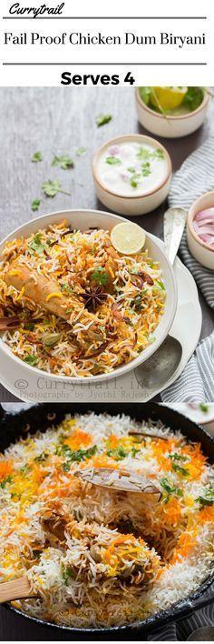 Chicken Dum Biryani                                                                                                                                                     More