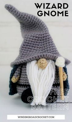 Halloween Crochet Patterns, Crochet Dolls Free Patterns, Amigurumi Patterns, Knitting Patterns, Crochet Pattern Free, Crochet Animal Amigurumi, Crocheting Patterns, All Free Crochet, Crochet Fairy