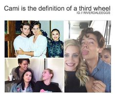Cami is me with my friends. I feel you girl