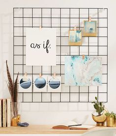 Umm, spend $20 and get one of those wire cube shelves kit and spray paint whatever color you want