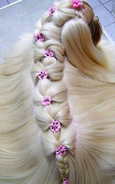 Repunzel,Repunzel,let down your hair! Yorkies, Shitzu Puppies, Yorkie Puppy, Cute Dogs And Puppies, Dog Grooming Styles, Grooming Shop, Dog Grooming Business, Pet Grooming, Shih Tzu Hair Styles