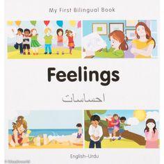 My First Bilingual Book–Feelings (English–Urdu)