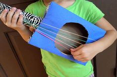 Cardboard Guitars | Crafts for Kids | PBS Parents